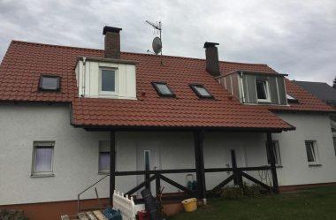 Neue Dachdeckung